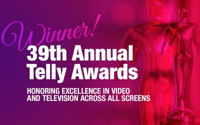 Once again, Cuneo wins multiple Telly Awards.
